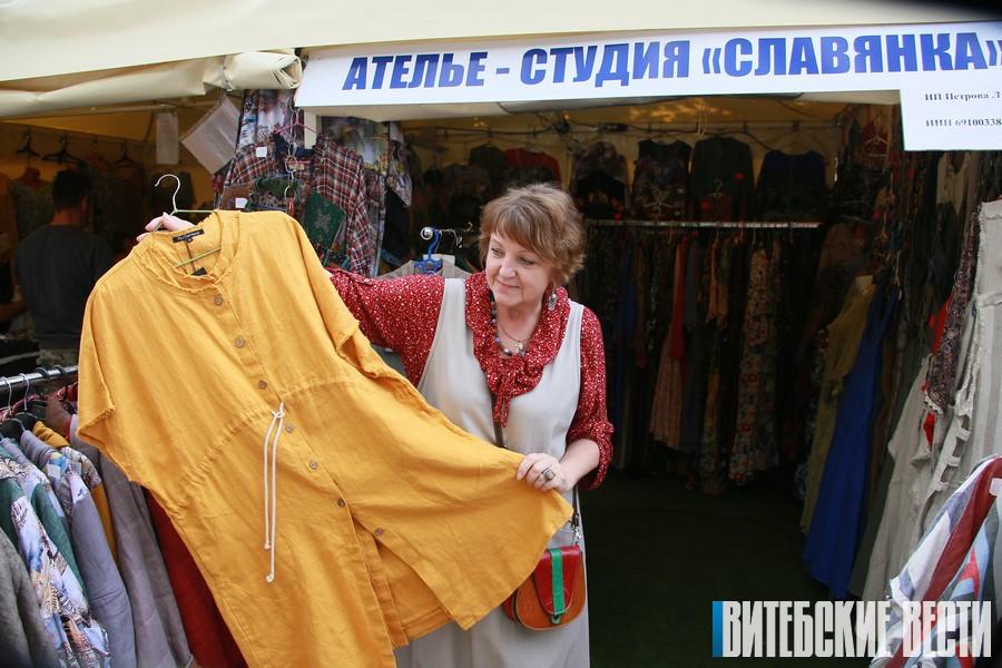 Лучшие товары от малого бизнеса представлены на ярмарке в фестивальном Витебске