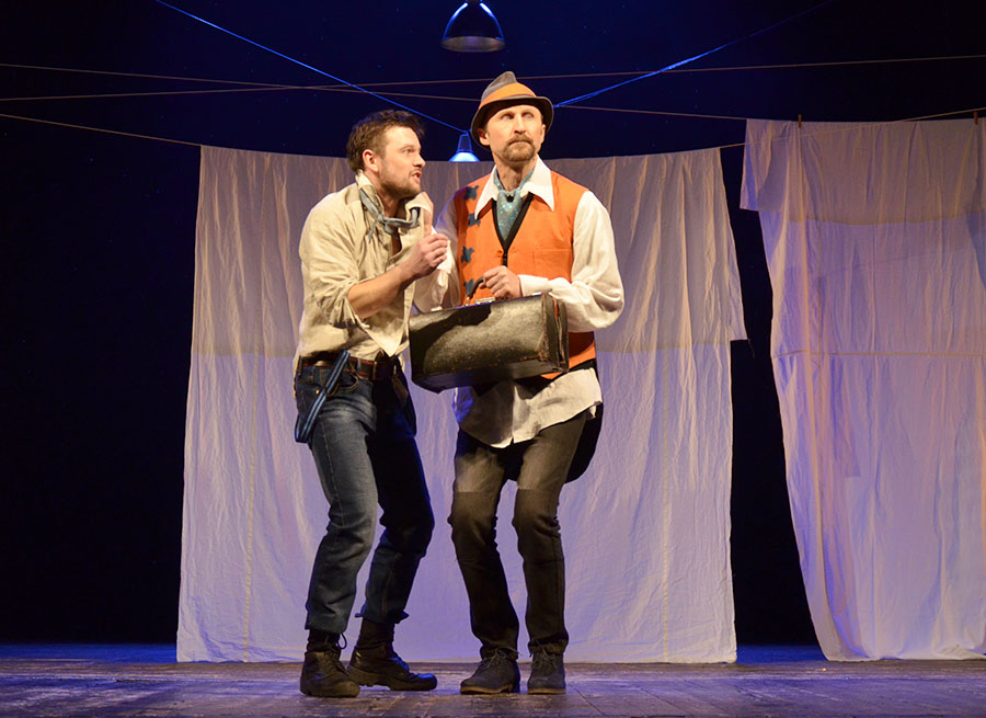 Театр имени Якуба Коласа поставлил спектакль по пьесе французского комедиографа XVII века, фото-3