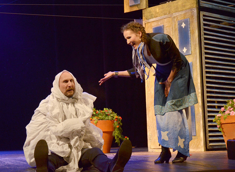 Театр имени Якуба Коласа поставлил спектакль по пьесе французского комедиографа XVII века, фото-5