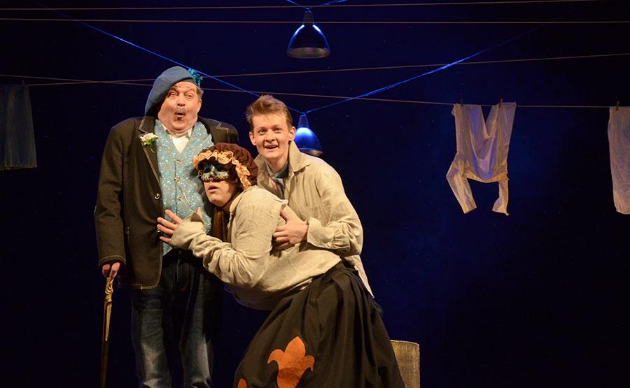Театр имени Якуба Коласа поставлил спектакль по пьесе французского комедиографа XVII века, фото-6