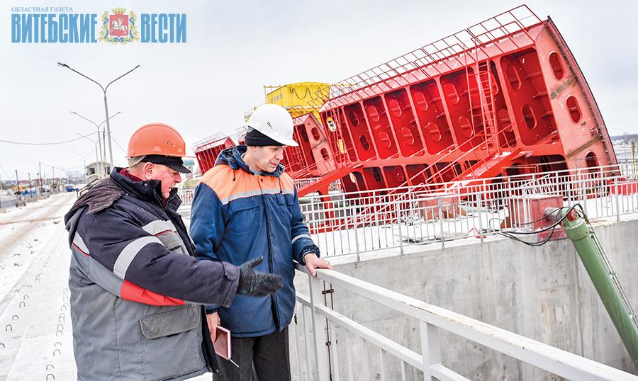 Работы по строительству Полоцкой ГЭС выполнены на 93%. ФОТО, фото-1