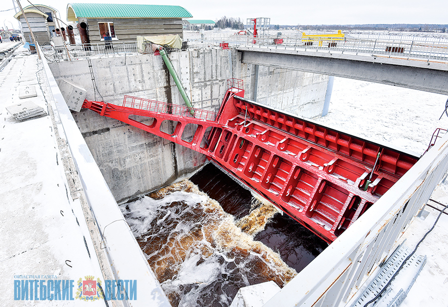 Работы по строительству Полоцкой ГЭС выполнены на 93%. ФОТО, фото-2