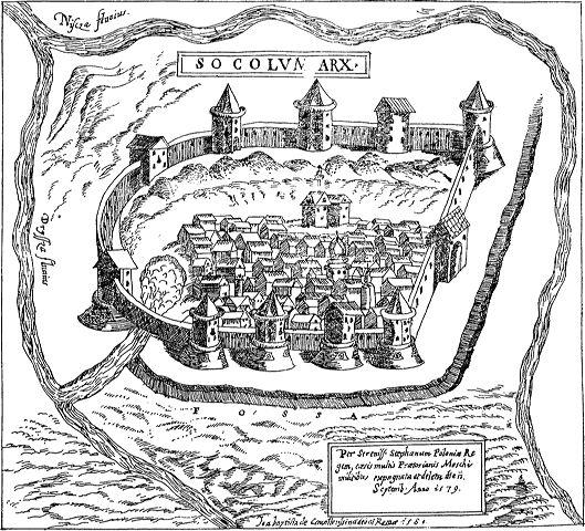 россоны замок соколище