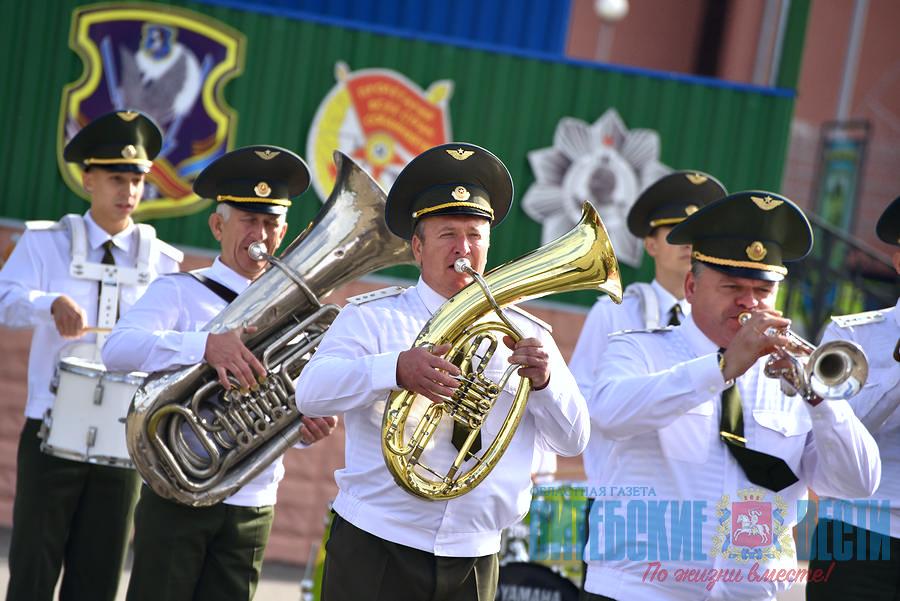 Смотр-конкурс военных оркестров в Витебске
