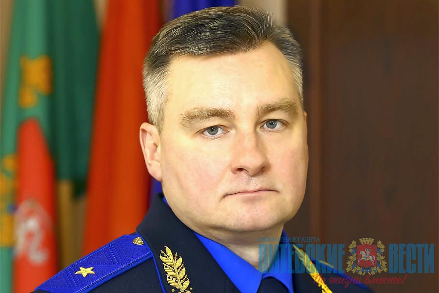 начальник УСК по Витебской области генерал-майор юстиции Владимир Шалухин