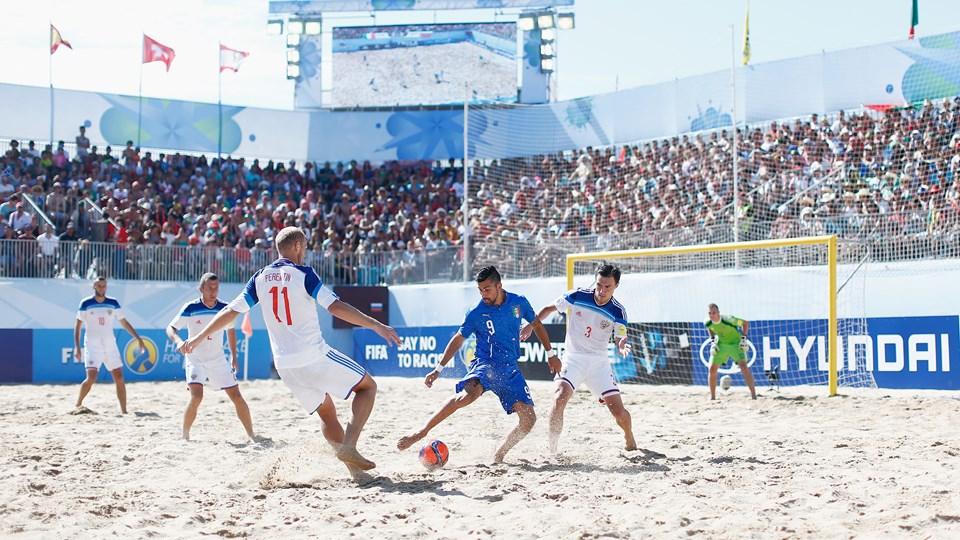 Чемпионат мира по пляжному футболу россия италия
