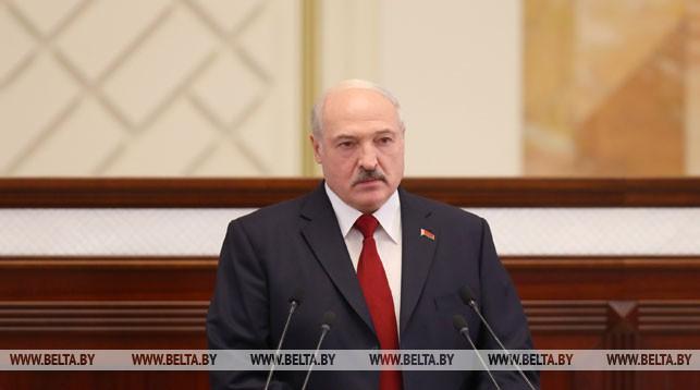 Президент Беларуси Александр Лукашенко обратился с ежегодным Посланием к белорусскому народу и Национальному собранию