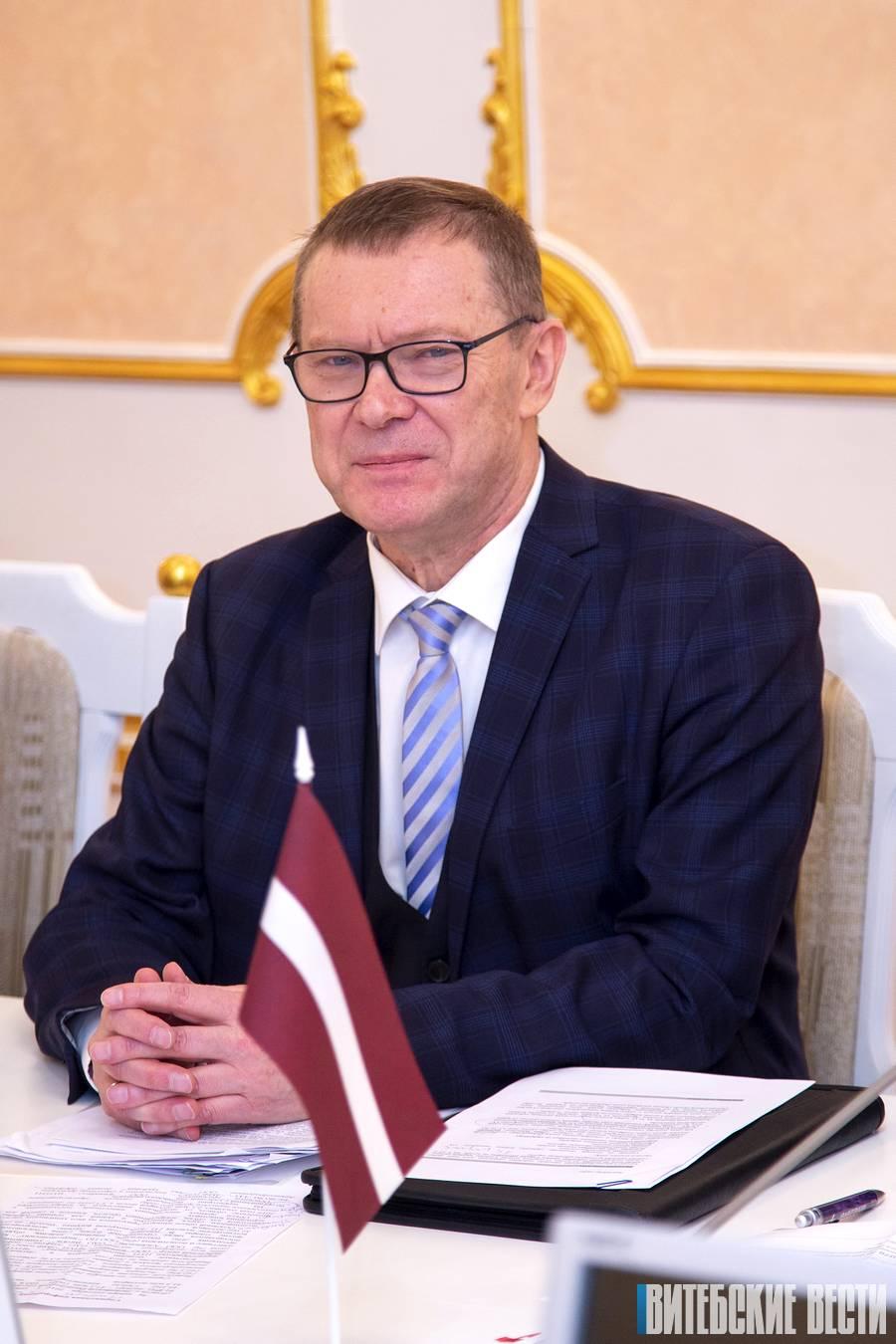 Эйнарс Семанис Чрезвычайный и Полномочный Посол Латвии в Беларуси