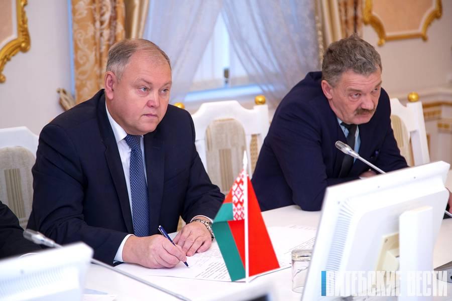 заместитель председателя Витебского облисполкома Владимир Пенин