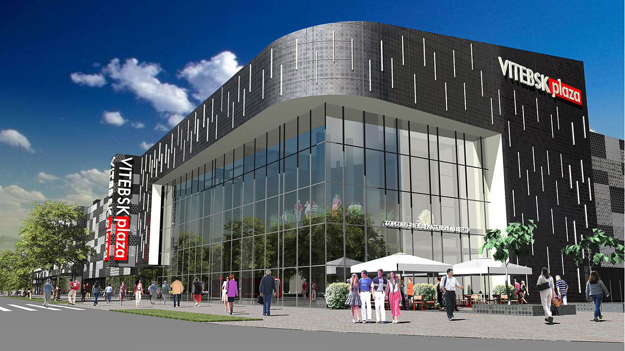 В Витебске начинается строительство самого большого торгового центра Vitebsk Plaza