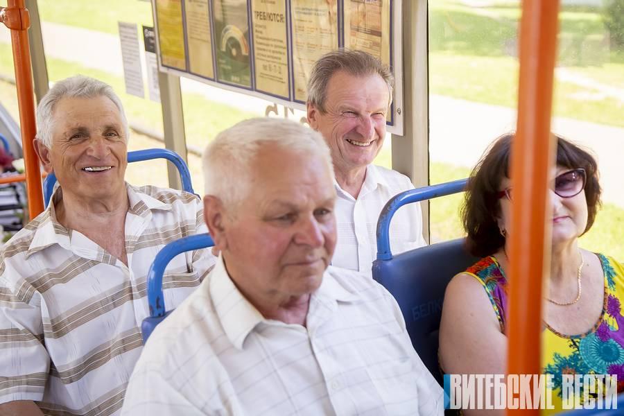 В Витебске празднуют день рождения старейшего трамвайного движения в Беларуси