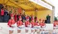 Бег виноградных улиток, «Мисс экстрим» и конкурс баянистов. В Глубоком проходит «Вишневый фестиваль» (+ФОТО)