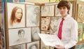 Портрет мэру, выставка творчества и проектов. Одна из витебских гимназий широко отметила свой юбилей (+ФОТО)
