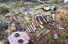 Почти 400 снарядов времен Великой Отечественной войны найдены в лесу в  Оршанском районе