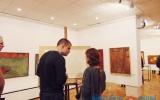 Продавец туманов и картины, написанные вслепую. Выставка Олега Прусова в Витебске вызвала интерес у горожан