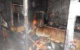 На пожаре в Орше обгорела двухлетняя девочка, ее мать погибла
