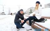В Витебске залили первые катки. Где в области еще можно будет покататься этой зимой?