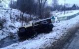 В Лепельском районе семья с двумя детьми попала в автомобильную аварию