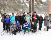 Депутатскую лыжню провели в Полоцком районе