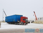 Строительство металлопрокатного завода в Миорах. ФОТОРЕПОРТАЖ со стройплощадки