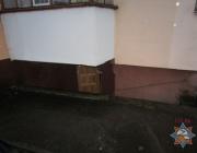 В Витебске милиционер спас бездомного во время пожара в подвале