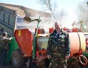 Толочинский консервный завод завершил посадку картофеля
