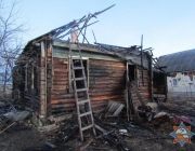 Двое мужчин сгорели ночью в одном доме в Витебске