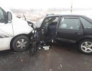 На трассе в Витебской области столкнулись грузовик и легковушка, есть пострадавший