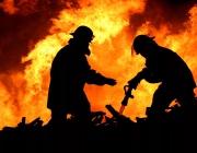 В Сенненском районе при пожаре погибли два человека