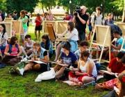 Под Шарковщиной проходит художественный пленэр, посвященный теме Холокоста