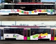 "Трамвай ""Маршрут от Марка Шагала и Казимира Малевича"" выйдет на линию в Витебске"
