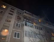 При пожаре в новополоцкой многоэтажке спасен хозяин квартиры и трое соседей (+ВИДЕО)