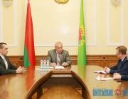 Нового помощника Президента – инспектора по Витебской области представили в облисполкоме