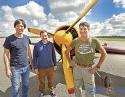Российская пилотажная группа «Первый полет» приземлилась в Витебске
