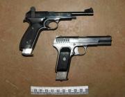 Внушительный арсенал оружия и марихуану изъяли правоохранители у новополочанина