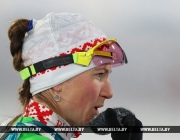 Дарья Домрачева допустила 4 промаха в олимпийской индивидуальной гонке