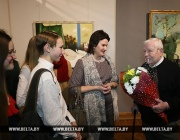 Выставка витебского художника Леонида Щемелева открылась в Национальном художественном музее