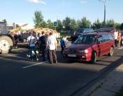В Витебске на пешеходном переходе легковушка сбила двоих детей