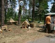"""Нацыянальны парк """"Браслаўскія азёры"""" пачаў уладкаванне зон адпачынку на дзвюх азёрах"""