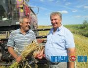 Чашникский район первым в области выполнит госзаказ по продаже зерна