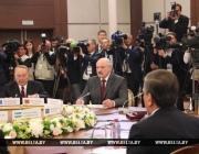 Александр Лукашенко принял участие в заседаниях Совета глав государств СНГ и Высшего Евразийского экономического совета