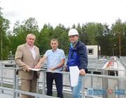 Очистные сооружения международного стандарта введены в строй в Верхнедвинске