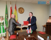 Соглашение о сотрудничестве подписал Городокский район с Усвятским Псковской области