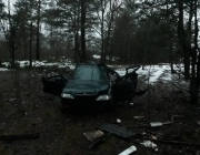 В Полоцком районе разбился 28-летний бесправник