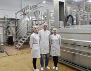 Новая линия по производству сыров введена в эксплуатацию в  ОАО «Верхнедвинский маслосырзавод»