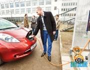 Электрозарядная станция «Витязь» для электромобилей установлена в Минске