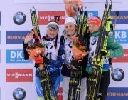 Уроженка Сенно Ирина Кривко завоевала «серебро» на этапе Кубка мира по биатлону во Франции
