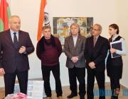 Выставка «IND-БЕЛ-ART» в Орше стала результатом поездки белорусских художников в Индию