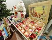 Чем украшали новогоднюю елку в СССР? Уникальные экспонаты представила выставка частной коллекции игрушек в Витебске (+ФОТО)