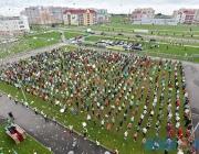 Коллективный рекорд Гиннесса по прыжкам на одной ноге установлен в Витебске (+ВИДЕО)